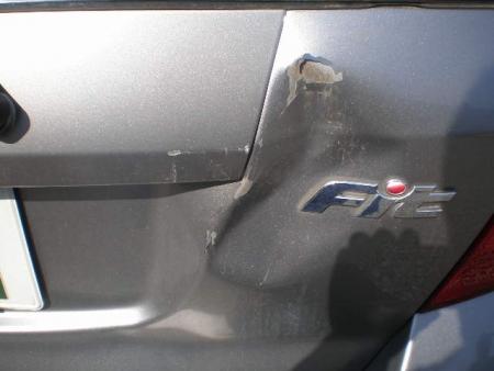 フィット修理塗装 (3)